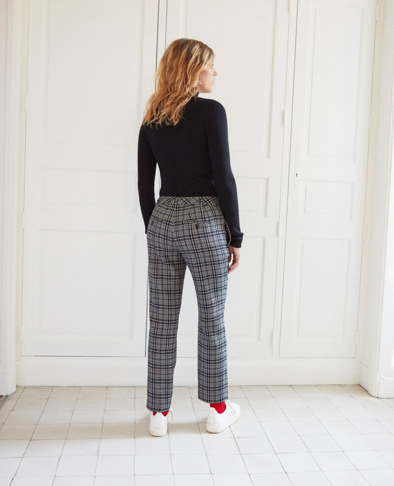 Straight-leg trousers Prince de galles Jillica