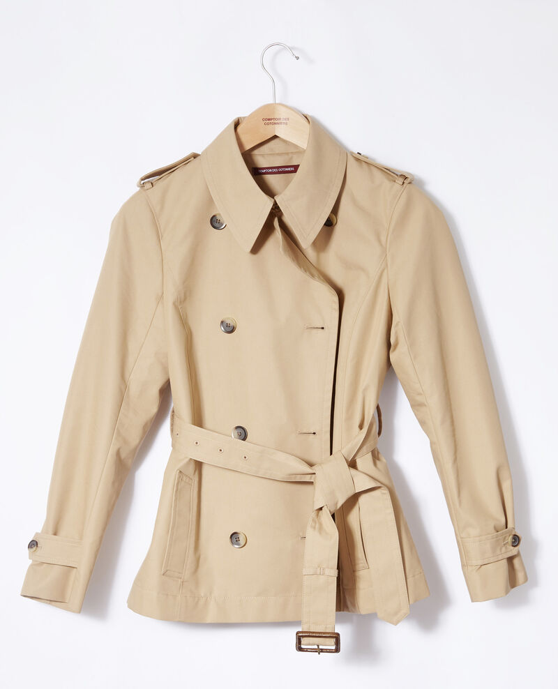 Short trench coat Beige Giorgia