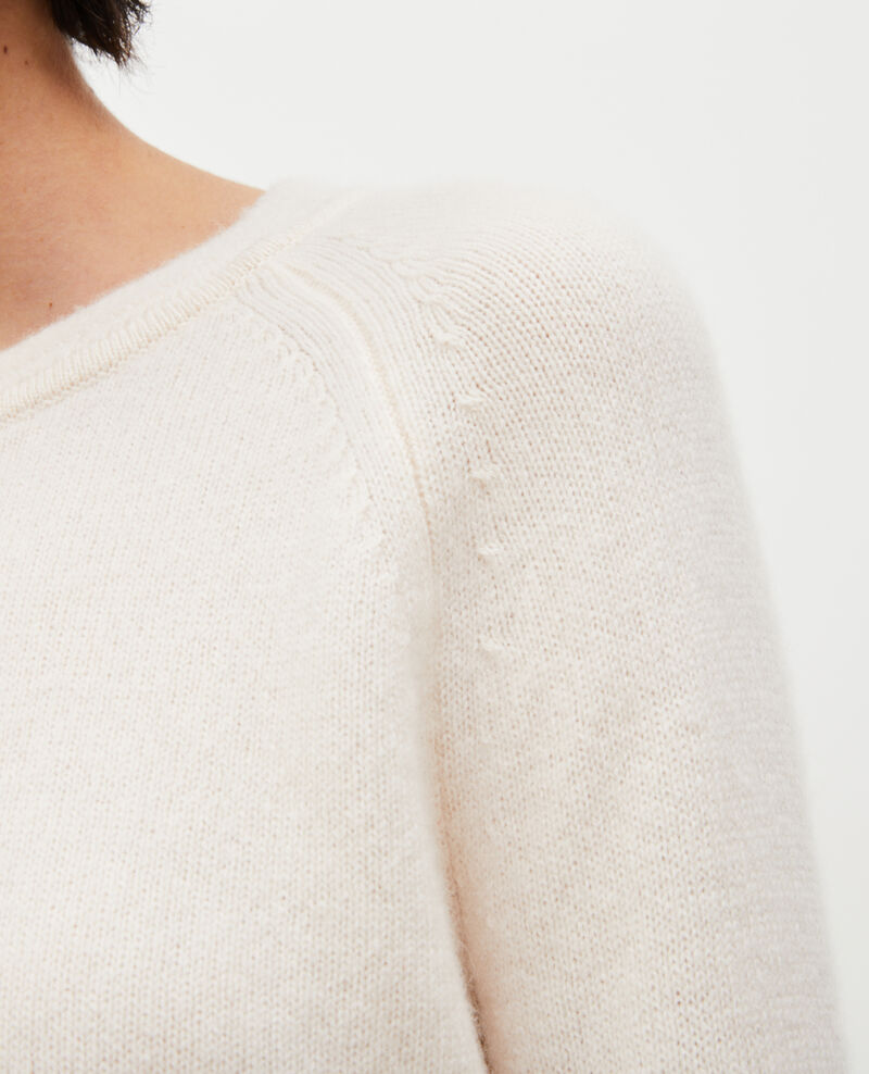 Cashmere jumper with puff sleeves Jet stream Migny