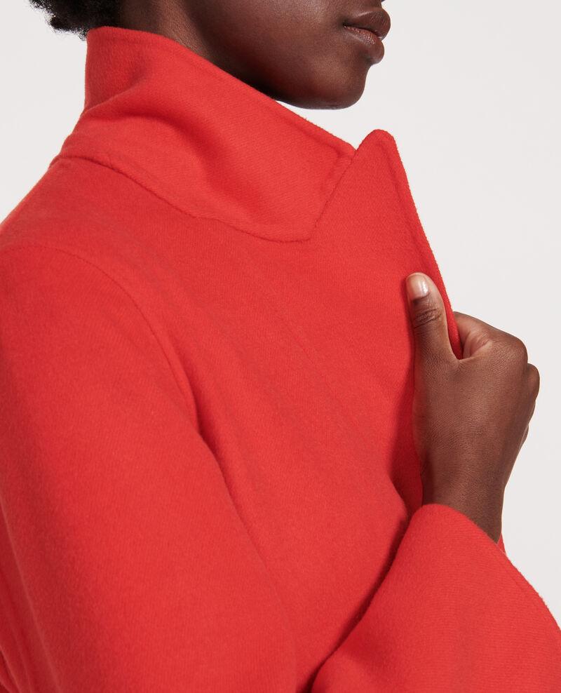 Long coat Fiery red Linard