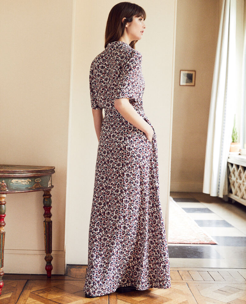 Printed maxi dress Nf coconut milk Josges