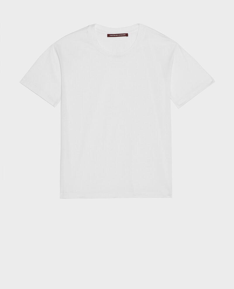 Classic egyptian cotton t-shirt Optical white Lirous
