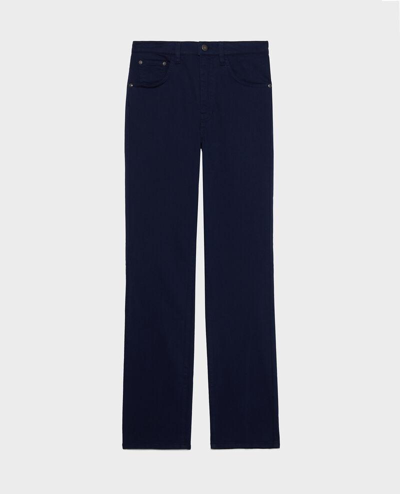 Straight-leg trousers Maritime blue Lozanne