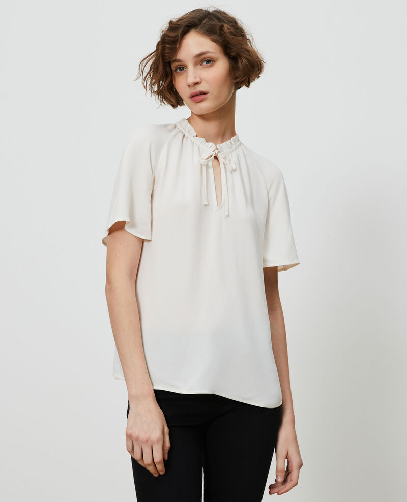 Short-sleeved blouse Gardenia Nalella