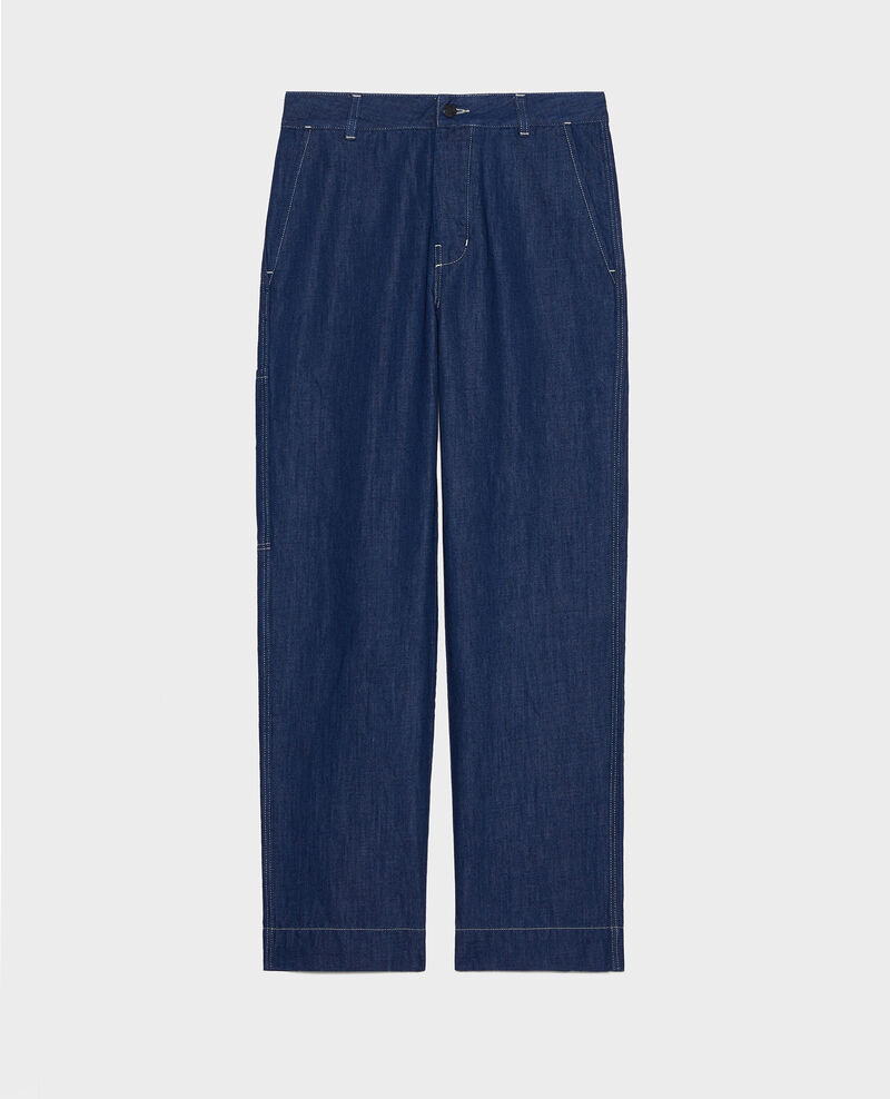Painter's jeans Indigo denim Louye