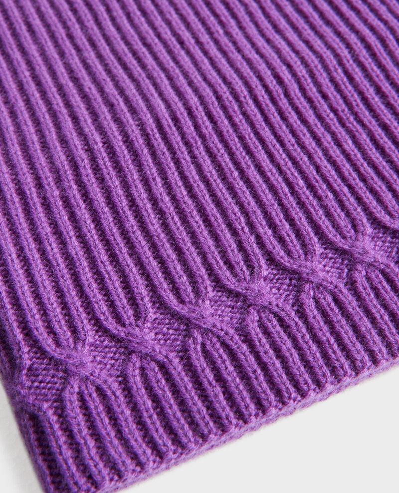 Wool snood Brghtviolet Phileto