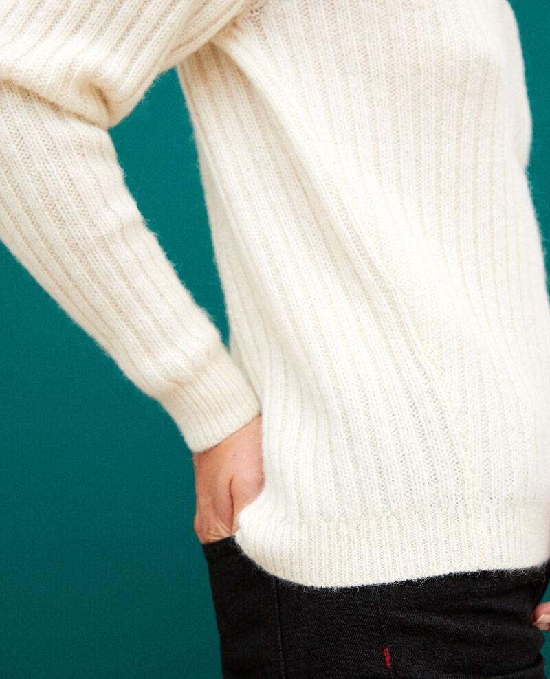 Reversible jumper White Gerda