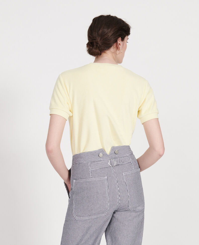 Cotton T-shirt Tender yellow Lis
