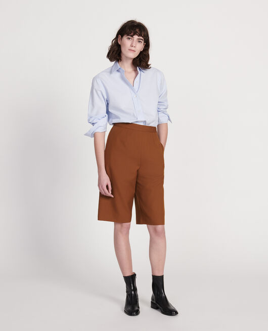 Classic poplin shirt HEATHER