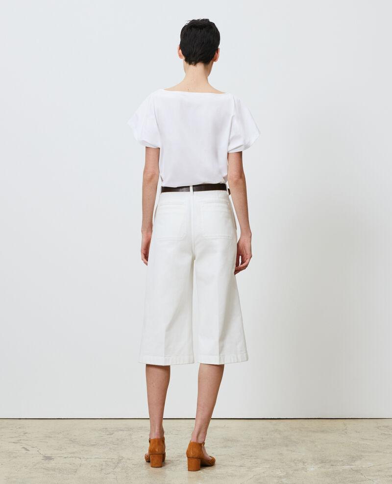 Short-sleeve cotton t-shirt Brilliant white Marcelin
