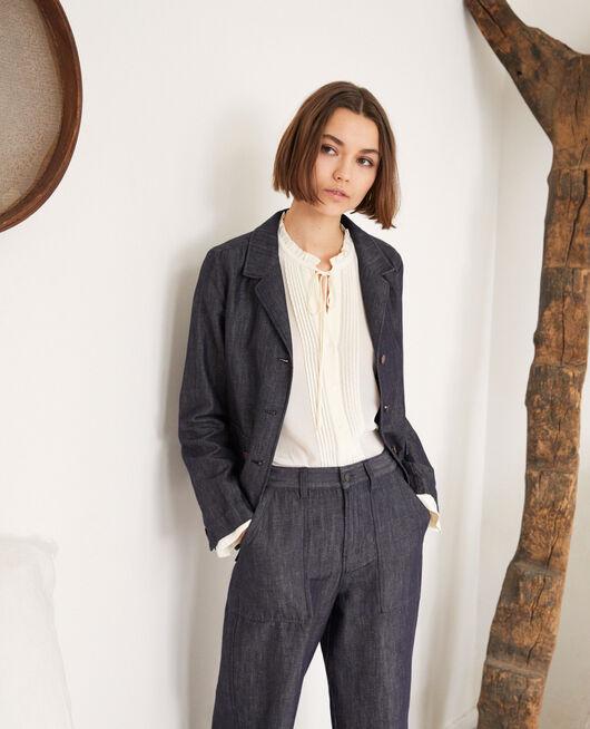 Suit-style jacket INDIGO