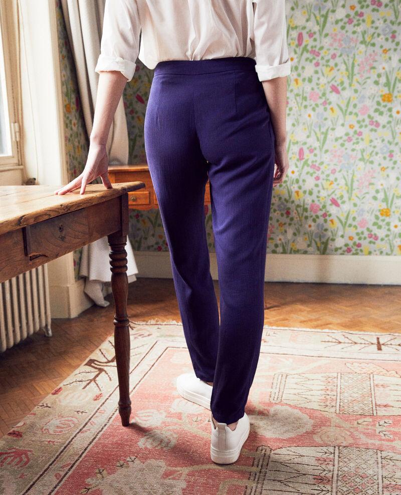 Harem-style pants  Evening blue Inoise