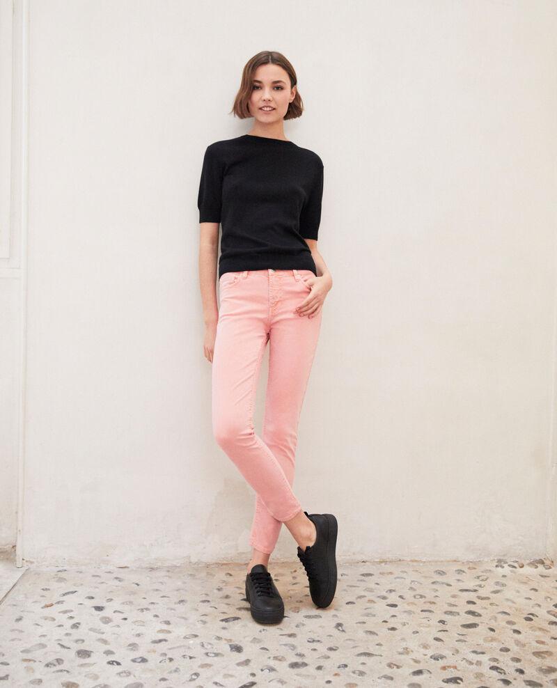 Skinny fit jeans Salmon pink Ibonair