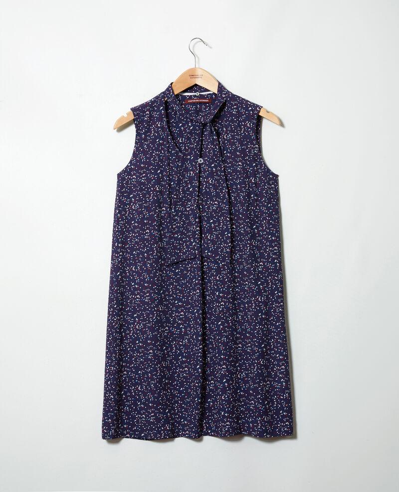 Sleeveless dress Confetti ink navy Iolande