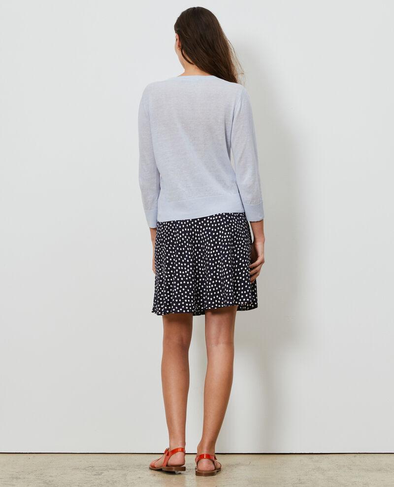 Linen and organic cotton cardigan Heather Lagardi