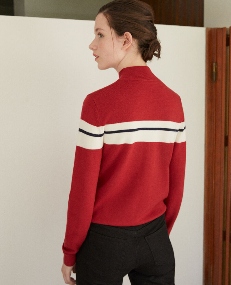 Merino wool jumper Red Gligne