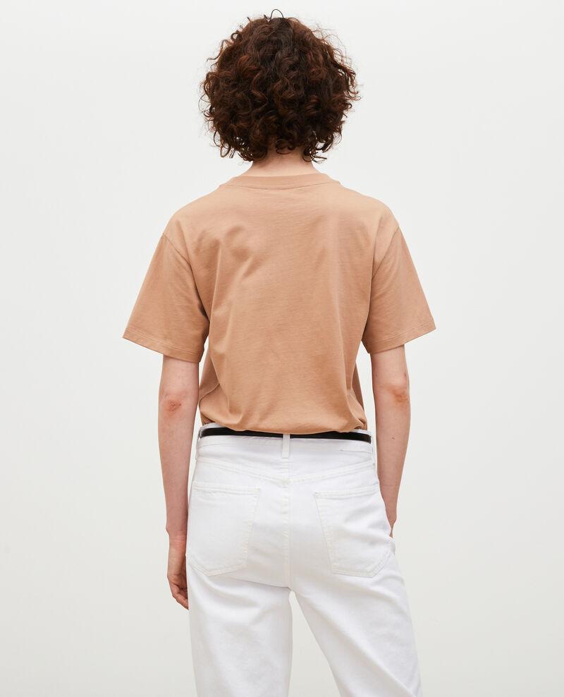 Short-sleeve cotton t-shirt Latte Mia