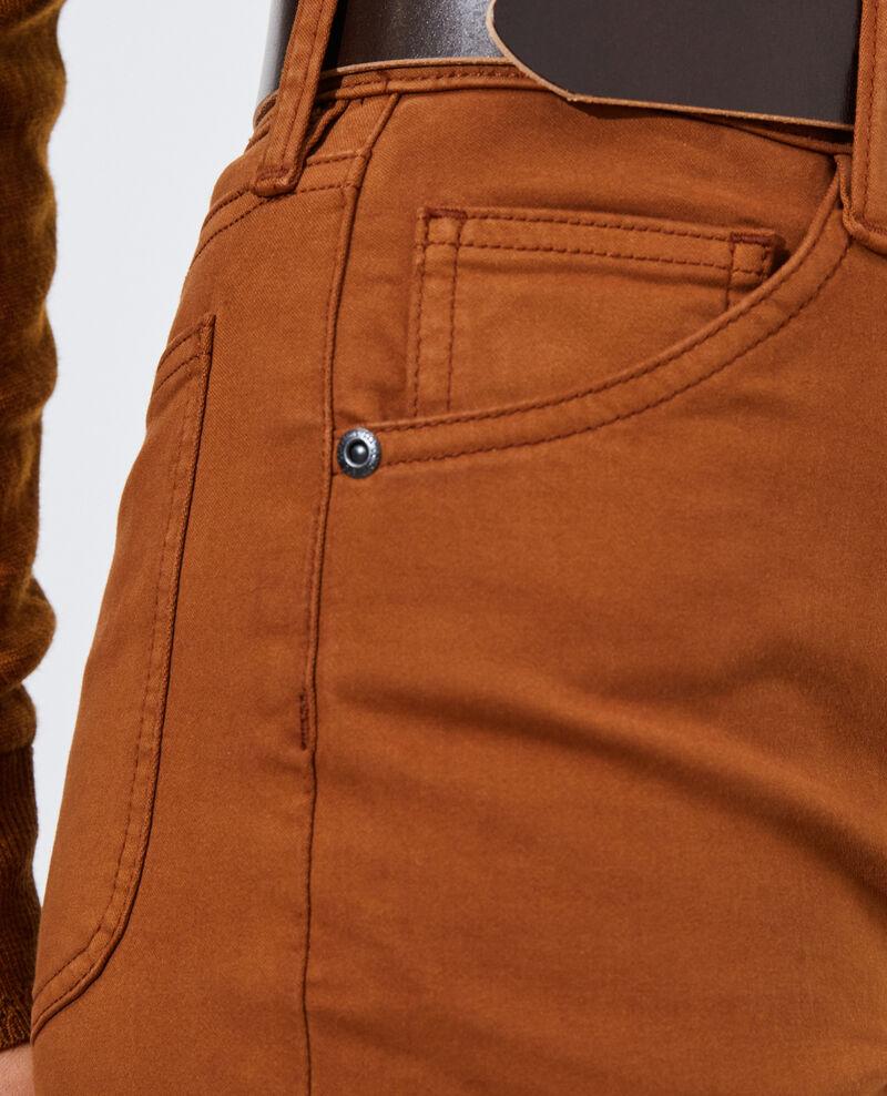 DANI - SKINNY - High-waisted 5 pocket jeans Monks robe Pozakiny