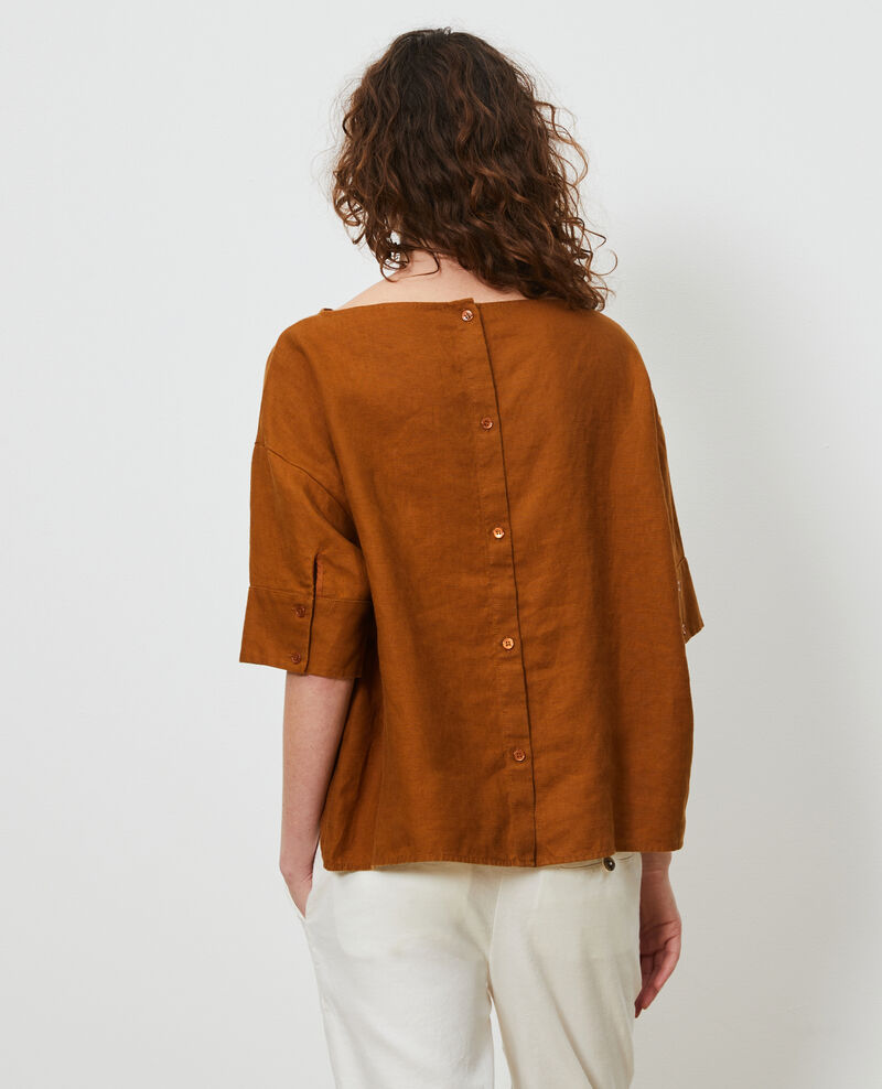 Loose linen top Monks robe Lordat
