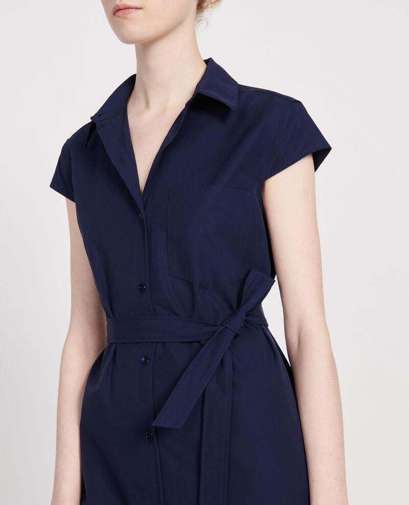 Cotton dress Maritime blue Lelumba