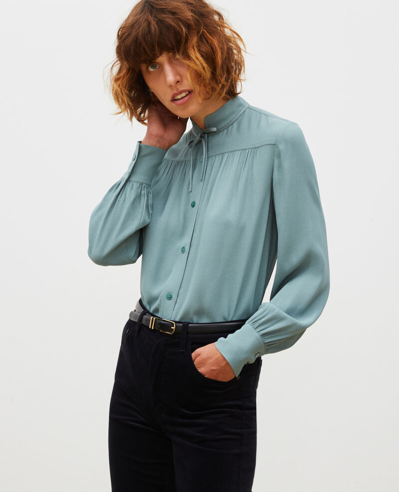 Long-sleeve tie neck shirt  Treillis Meyrala