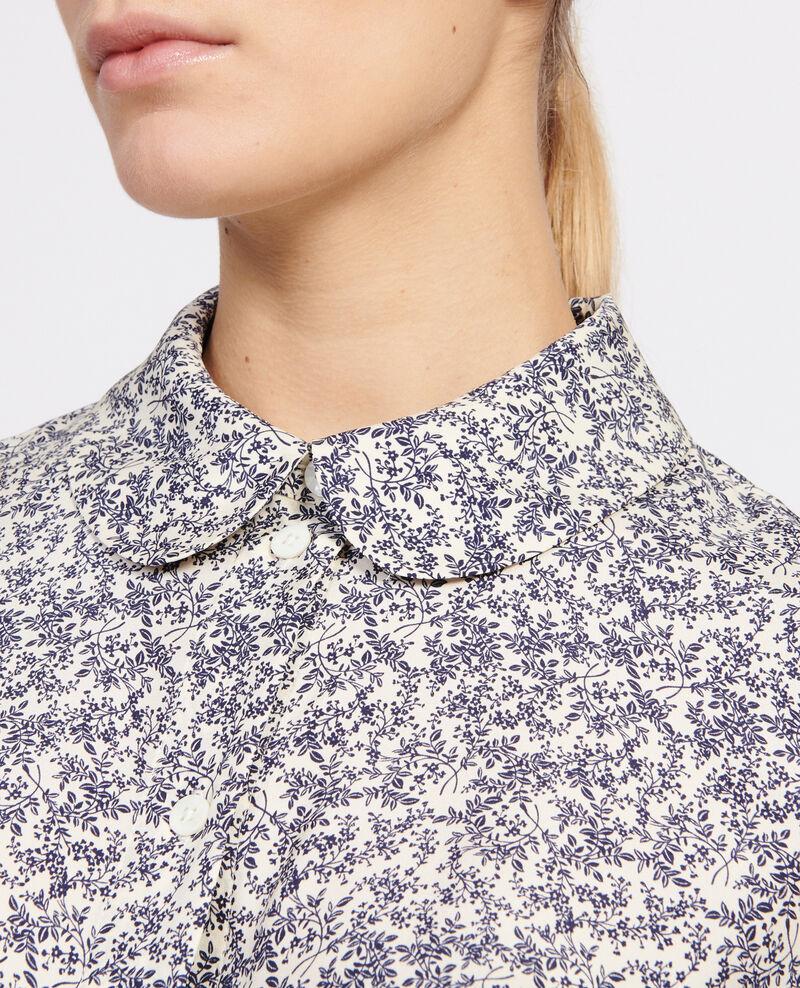 Printed shirt Feuillage off white Laloun