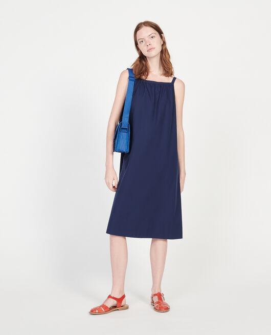 Cotton dress MARITIME BLUE
