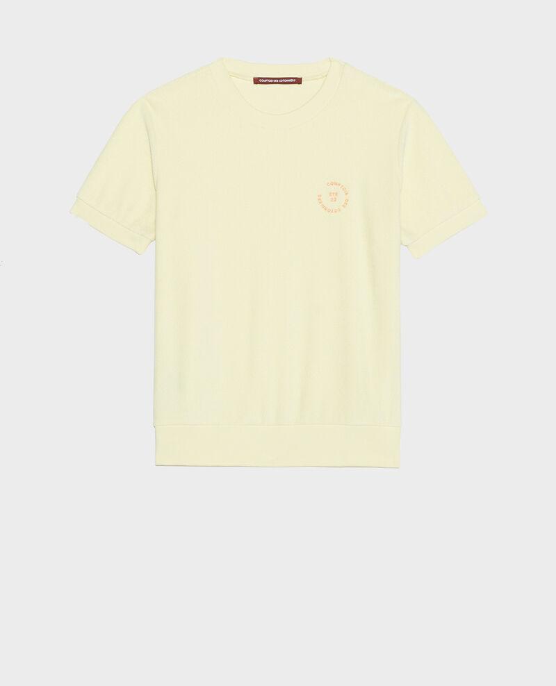 Cotton T-shirt Tender yellow Lis