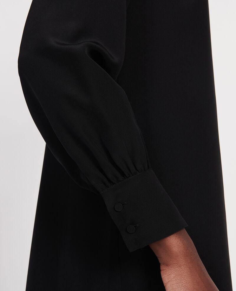 Silk dress Black beauty Lamax