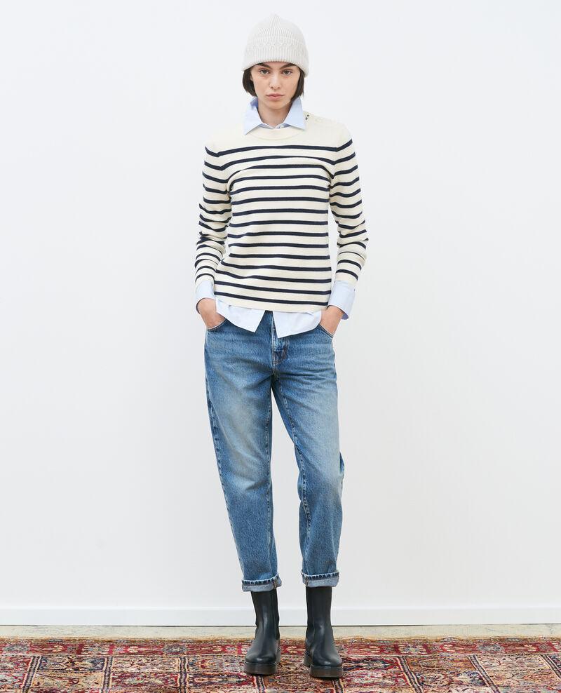RITA - SLOUCHY - Low-rise loose jeans Vintage mid wash Peronac