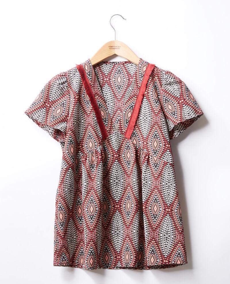 Printed blouse Brown Furie
