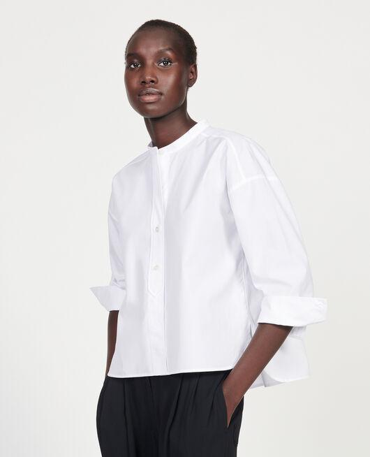 Cotton blouse OPTICAL WHITE