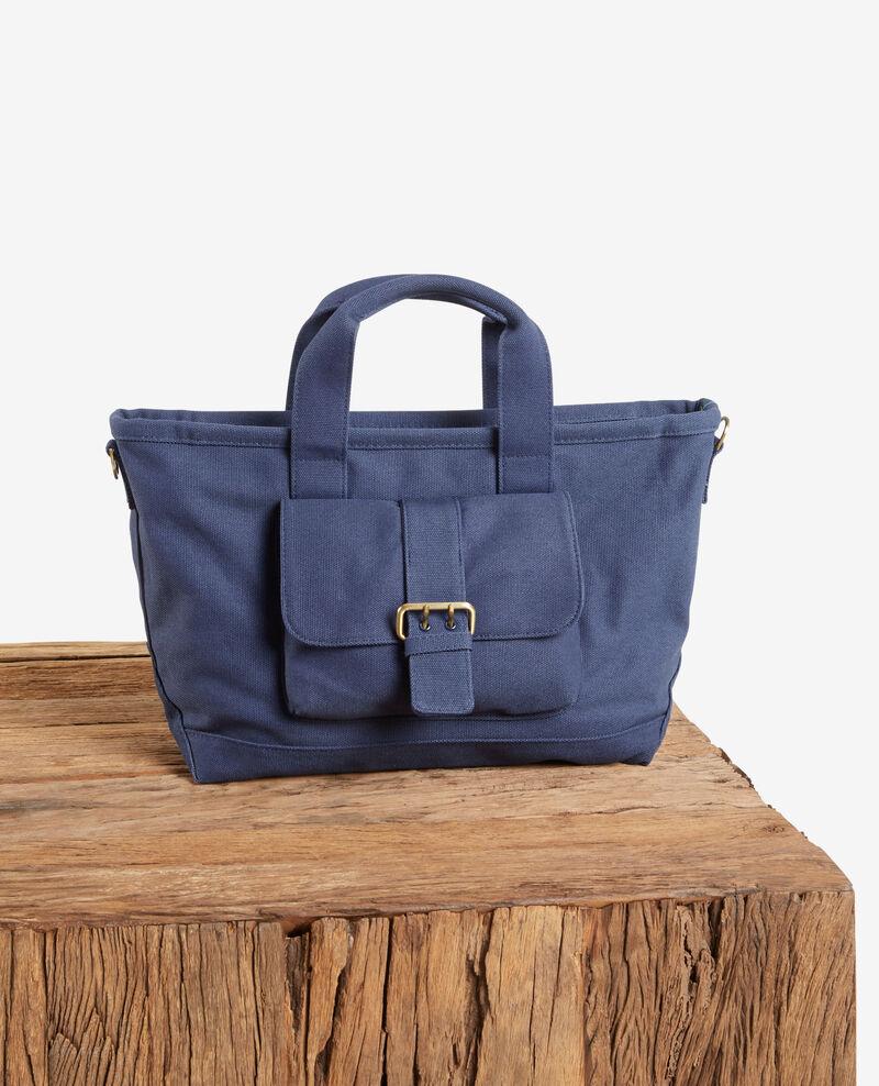 Heavy duty canvas bag Indigo Fanmini