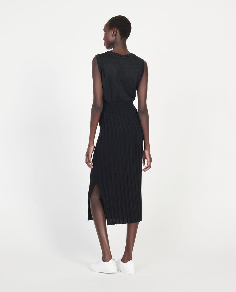 Cotton skirt Black beauty Losse
