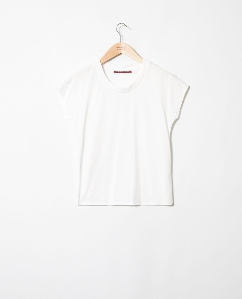 Classic t-shirt Coconut milk Joya