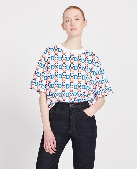 Cotton T-shirt OPTICAL WHITE