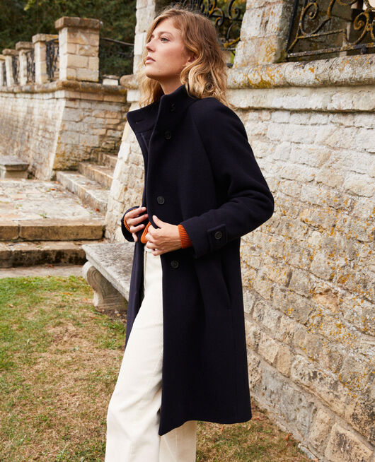 Timeless coat DARK NAVY