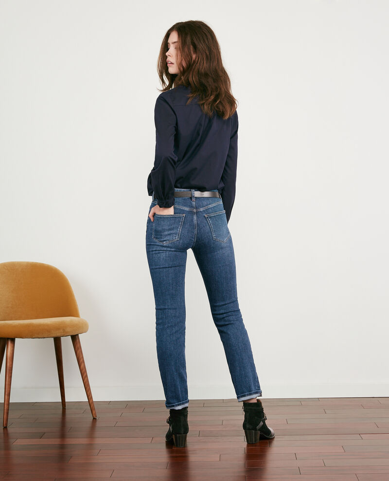 Cigarette jeans Indigo dark Distingue