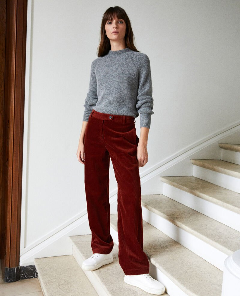 Corduroy trousers Brandy brown Jose