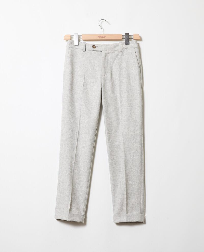 Suit trousers  Light grey Jokya