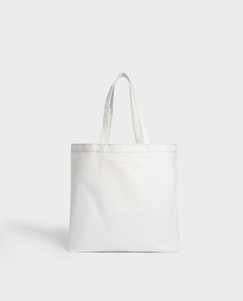 Printed canvas bag Forget me not Macao