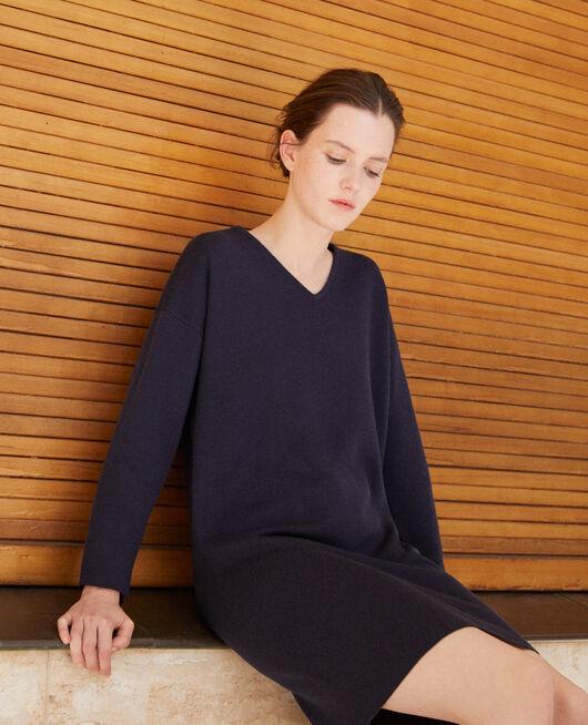 Double-sided dress Blue