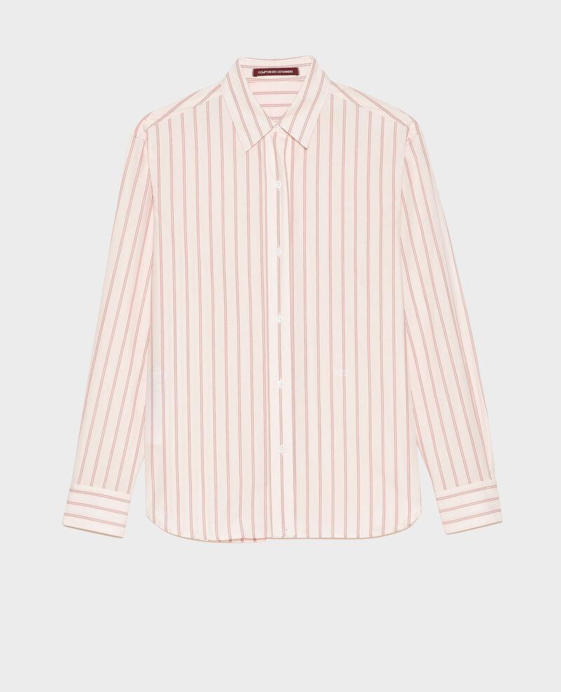 Cotton boyfriend shirt Popeline stripe3 Labilo