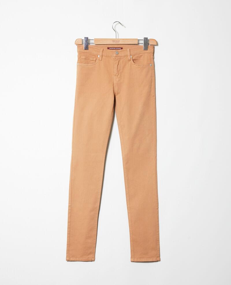 Slim fit jeans Caramel beige 9illineto