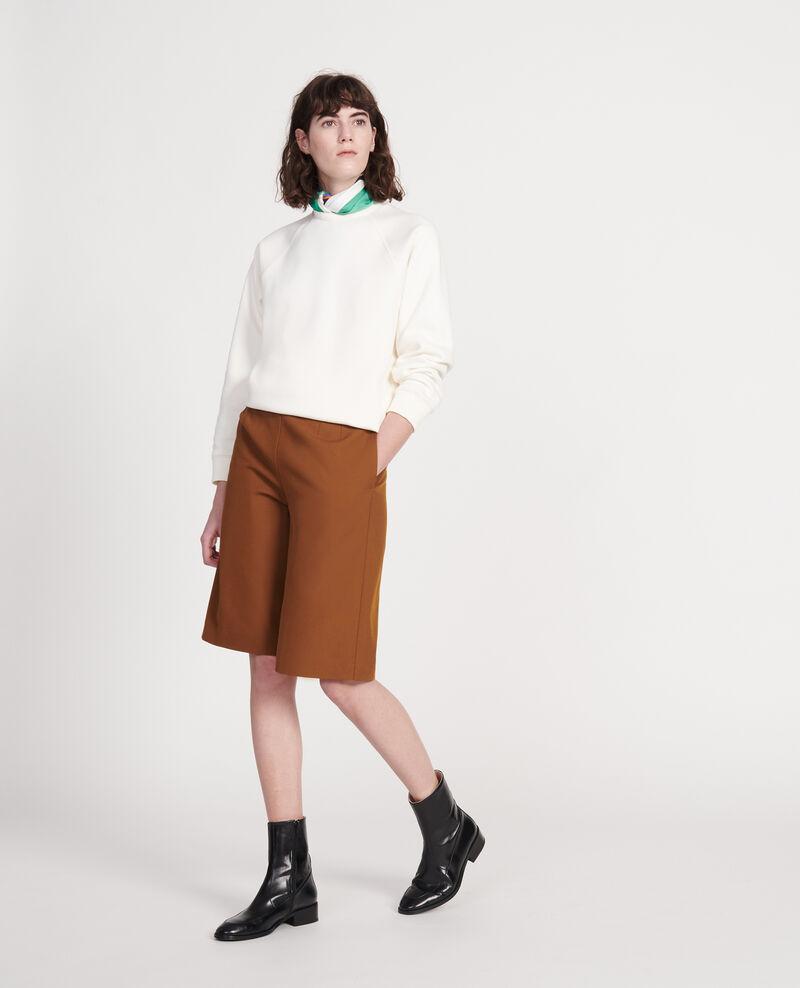 Classic sweatshirt Gardenia Lison