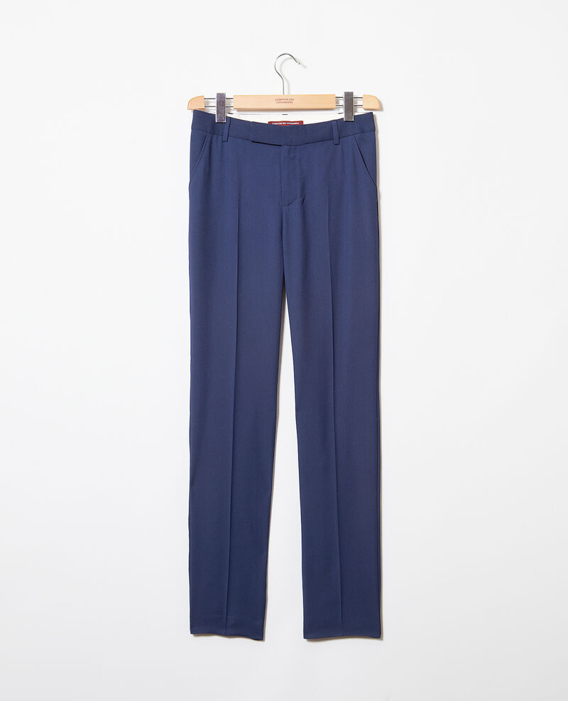 Carrot trousers Ink navy Itigone