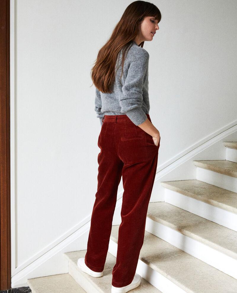 Corduroy trousers Brandy brown Jose