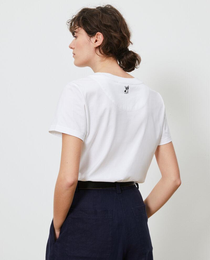Cotton T-shirt Brilliant white Nyer