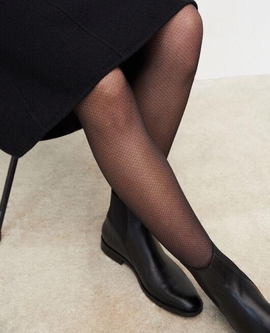 Novelty tights Black