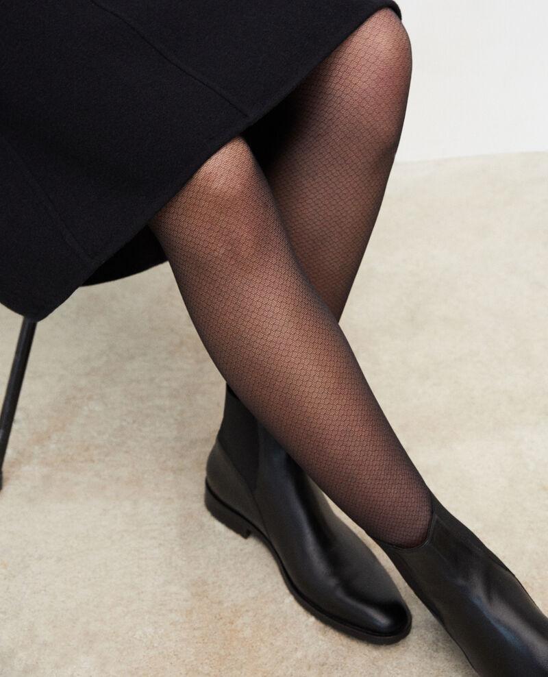 Novelty tights Black Gambettine